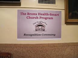 Photo Gallery: The Bronx Health-Smart Church Program Recognition ...