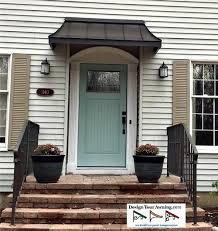 Pinterest Images For Front Door Awnings  Awning Over In Zionsville  Bronze 4