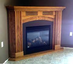 corner natural gas fireplace small corner gas fireplace natural vent free mantels corner natural gas fireplace