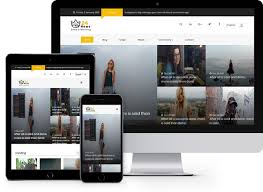 Free Responsive Website Templates Impressive 48 News Free Viral HTML48 Template Using Bootstrap For News Websites
