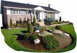 Small Picture Basic Garden Design And Basic Landscape Ideas For Front Yard 2