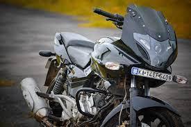 pulsar 220 bike black hashim
