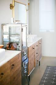 Exceptional Interior, Industrial Metal Bathroom Vanity Design Ideas Off Center Sink  Entertaining West Elm Excellent 2