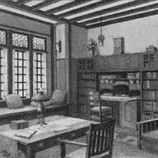 craftsmen office interiors. A Fine Craftsman Style Library Craftsmen Office Interiors F