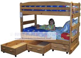 Full Over Bunk Bed Plans