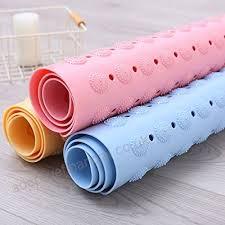 bathsafe 80x80cm extra large square bath mat anti slip foot massage shower mat non skid suction