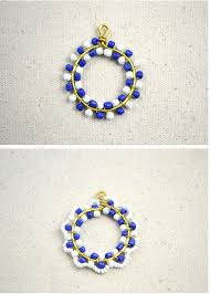 how to make a beaded pendant how to make necklace patterns with beads step