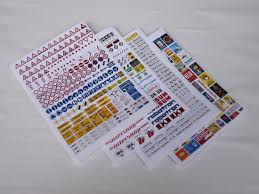 H0 Signs Advertising Boards Ddr