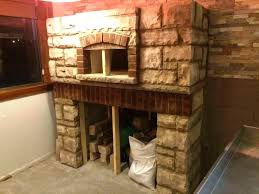 how to build indoor wood fired pizza oven a fireplace diy plans
