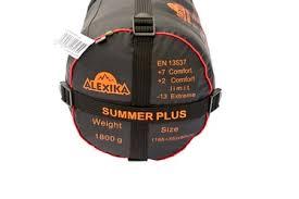 <b>Спальный мешок Alexika Summer</b> Wide Plus Серый левый купить ...