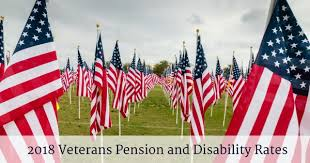 2018 Veterans Pension And Disability Rates