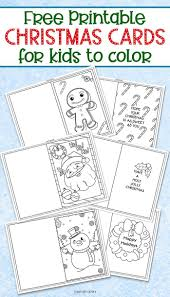 Printable coloring christmas gift tags. 3 Free Printable Christmas Cards For Kids To Color Christmas Cards Kids Free Printable Christmas Cards Christmas Coloring Cards