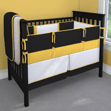 sports team black gold and white nursery idea customizable crib bedding set carousel designs