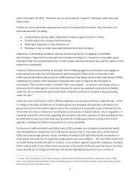 Harassment Grievance Letter Template Sample 2 Complaint