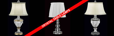 browse through our wide range of crystal table lamps a selection of crystal classic table lamps either of a traditional or contemporary design