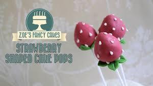 Strawberry Cake Pops How To Make Strawberry Shaped Cake Pops Cake