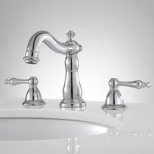 widespread bathroom faucets. Enid Widespread Bathroom FaucetDelicate Flourishes And Flowing Contours Accent The Faucet Constructed Of Solid Faucets L