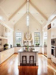 kitchen track lighting vaulted ceiling drinkware wall ovens