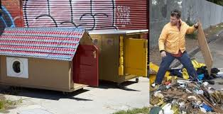 Small Picture Tiny mobile houses made out of trash to help homeless people