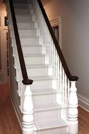 painted stairspainting stair treads and risers best paint for
