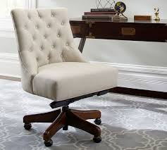 office chair upholstery. Hayes Tufted Swivel Desk Chair Pottery Barn Throughout Upholstered Office Decor 15 Upholstery R