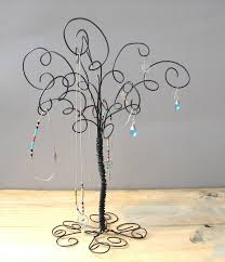 Large Jewelry Tree Display Stand Wire Jewelry Tree Stand Earring RingsBracelets Organizer 76