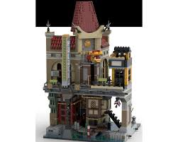 LEGO MOC Ninjago City Cinema by cjtonic | Rebrickable - Build with LEGO
