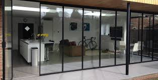 creative of glass bifold doors with bi fold glass patio doors