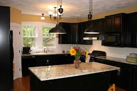kitchen paint colors with dark wood 2018 including cabinets color