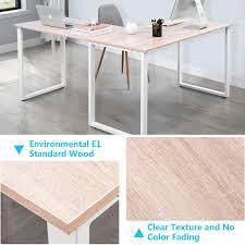 corner desk home. Merax L-Shaped Office Workstation Computer Desk Corner Home Wood Laptop Table Study