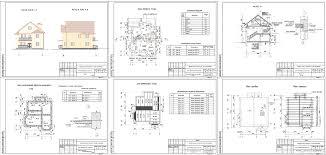 Курсовые и дипломные проекты коттеджи дачи скачать котедж в dwg  Курсовой проект Двухэтажный кирпичный жилой дом 12 3 х 9 9 м в