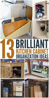 Kitchen Cabinet Organization Tips Marvelous Kitchen Cabinet Organization Ideas Alluring Kitchen