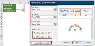 How To Create Speedometer Gauge Chart In Excel