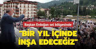 Son dakika haberi... Başkan Erdoğan, Rize'nin Güneysu ilçesinde: Toplam 550  konut inşa edeceğiz