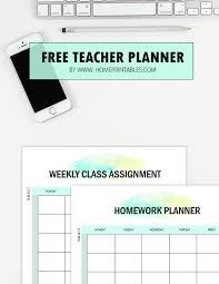 Free Teacher Planner Printables 35 Organizing Sheets