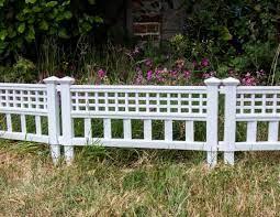 woodside white decorative plastic