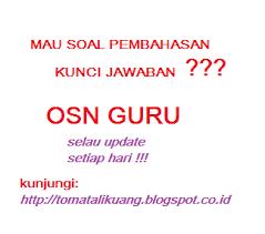 Sebelumnya folder osn juga sudah membagikan link dowload soal osn ips smp tahun 2019 tingkat provinsi. Download Soal Pembahasan Osn Guru Smp Bidang Ips