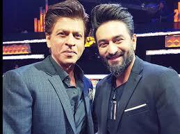shahrukh khan and shekhar ravjiani once