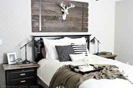 bedroom burly wood rectangle headboard carpet theme cowhide red foam wall mounted beige rectangle curved