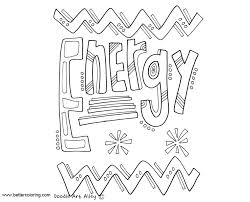 Growth Mindset Coloring Pages Energy Free Printable Coloring Pages