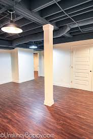they are a cork backed vinyl that snap together really easily they are completely moisture resistant so perfect for a basement floor