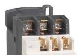 schneider electric tesys d and f contactor range overview fast on lug terminals add 6 before the coil code e g lc1d096m7 for the fast on lug terminal version of lc1d09m7