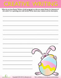 See more ideas about easter kindergarten, easter activities, easter. Easter Writing Prompts Education Com