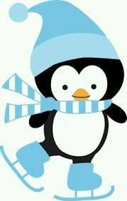 cute penguin christmas clipart. Beautiful Clipart Winter Clipart Christmas Art Canvas  Templates In Cute Penguin Clipart S