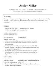 Resume Builder Free Resume Builder Glever