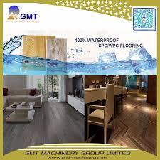 waterproof rigid core unilin pvc spc vinyl plank flooring production line