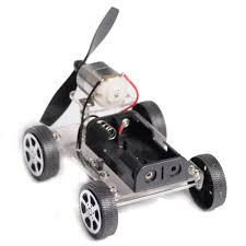 LCLL DIY Puzzle <b>Mini Wind Car</b> Child Educational Toy <b>130</b> Brush ...
