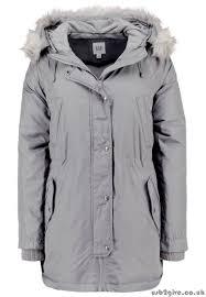 women s gap winter coat area winter coats grey showy