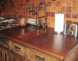 Copper Kitchen Countertops Aesthetic And Elegant Kitchen Copper Countertops Wearefound Home