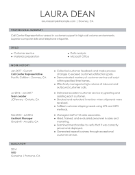 Customer Service Representative Resume Examples Free To Try Today